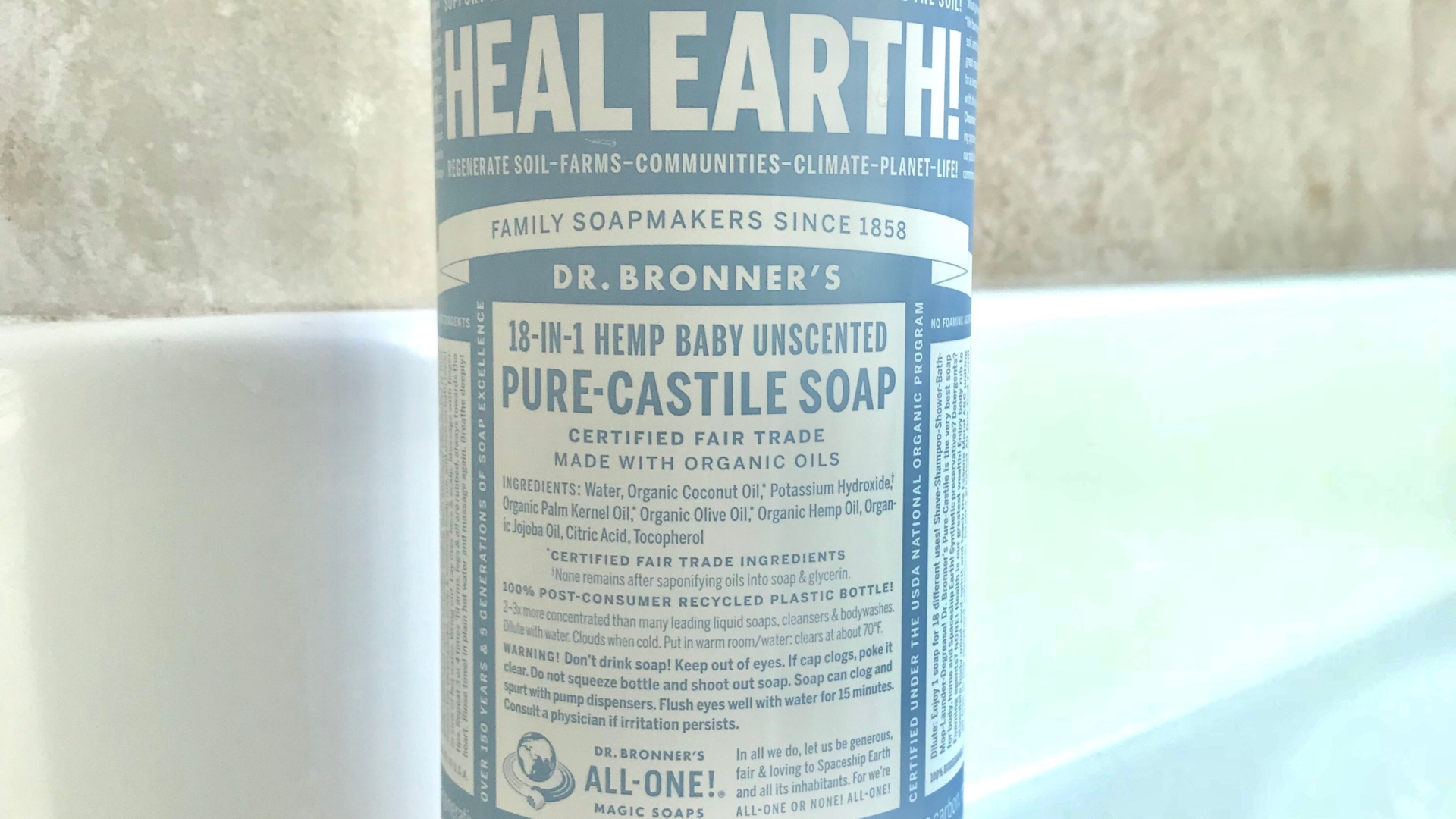 Dr Bronner's pure Castile soap – The Stead Tribe